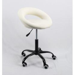 Кресло офисное Onder Mebli Holy BK-Office ЭкоКожа Черный