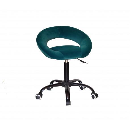 Кресло офисное Onder Mebli Holy BK-Office Бархат Зеленый В-1003