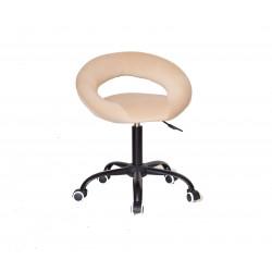 Кресло офисное Onder Mebli Holy BK-Office Бархат Бежевый В-1005