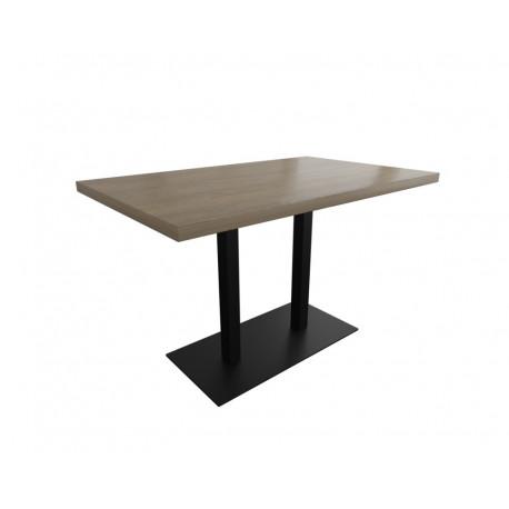 Стол Тренд 1 двойной 160 см основа 8 мм Металл-Дизайн Лофт