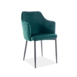 Обеденное кресло Astor velvet зеленый Signal