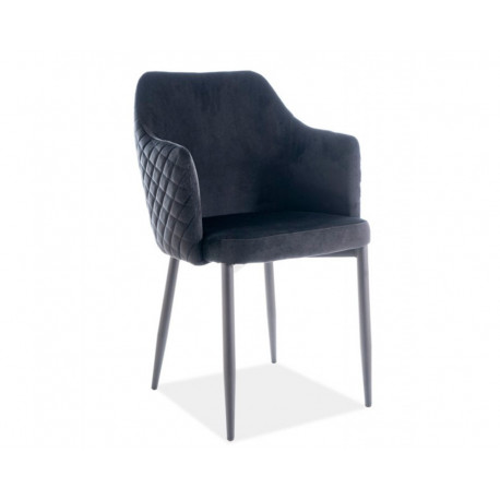 Обеденное кресло Astor velvet черный Signal