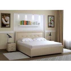 Кровать с мягкими изголовьем Моника Лефорт