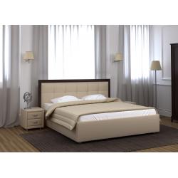 Кровать с мягкими изголовьем Мишель Лефорт