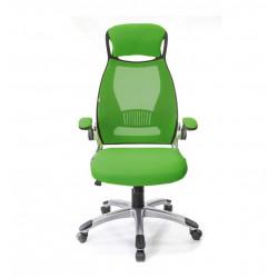 Кресло офисное с сетчатой спинкой Винд PL TILT зеленый А-класс
