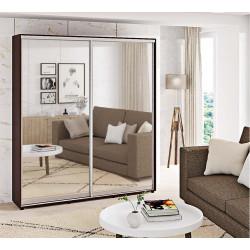 Шкаф-купе Зеркало Стандарт 210/240х45х100 Комфорт-мебель