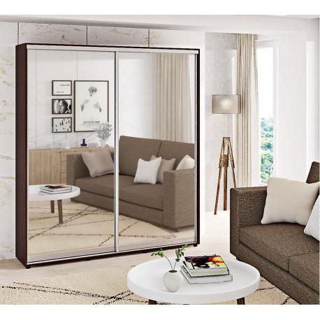 Шкаф-купе Зеркало Стандарт 210/240х45х120 Комфорт-мебель