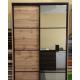 Шкаф-купе ДСП+Зеркало из 4-х Стандарт 210/240х45х120 Комфорт-мебель