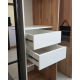 Шкаф-купе ДСП+Зеркало из 4-х Стандарт 210/240х45х130 Комфорт-мебель
