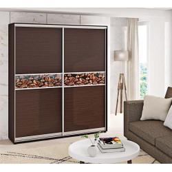 Шкаф-купе ДСП Модель 2 Стандарт 210/240х45х150 Комфорт-мебель