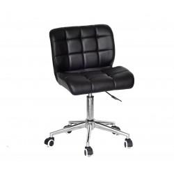Кресло офисное Onder Mebli Soho Modern Office ЭкоКожа Черный
