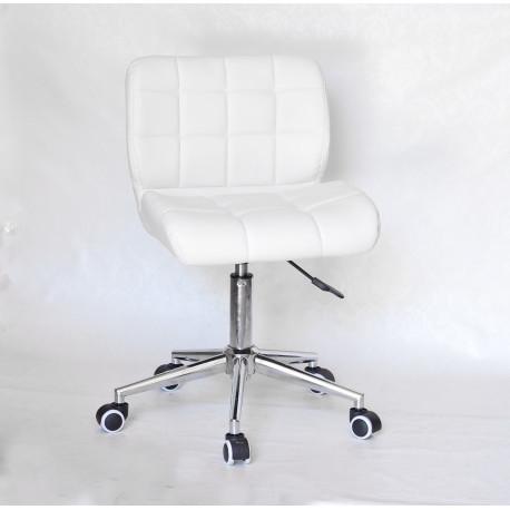Кресло офисное Onder Mebli Soho Modern Office ЭкоКожа Белый