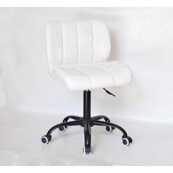 Кресло офисное Onder Mebli Soho BK-Office ЭкоКожа Белый