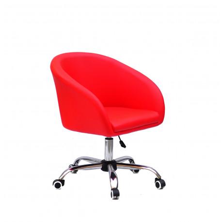 Кресло офисное Onder Mebli Andy CH-Office ЭкоКожа Красный 1007