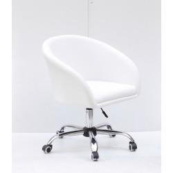 Кресло офисное Onder Mebli Andy CH-Office ЭкоКожа Белый