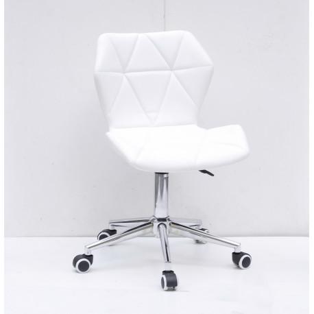 Кресло офисное Onder Mebli Torino Modern Base ЭкоКожа Белый