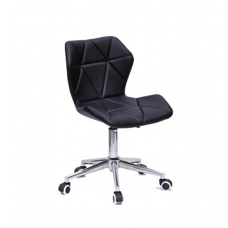 Кресло офисное Onder Mebli Torino Modern Base ЭкоКожа Черный