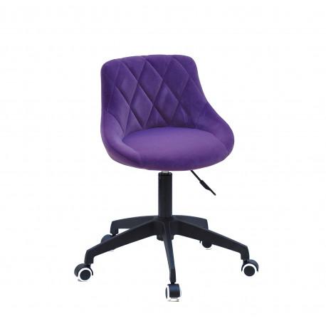 Кресло офисное Onder Mebli Foro BK - Modern Office Бархат Пурпур В-1013