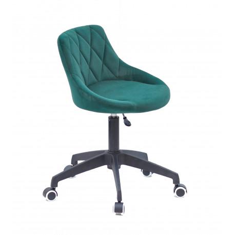 Кресло офисное Onder Mebli Foro BK - Modern Office Бархат Зеленый В-1003