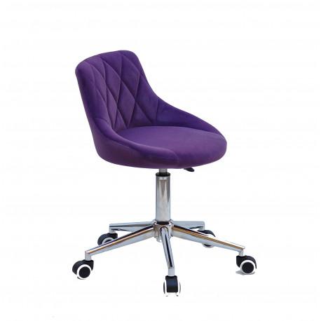 Кресло офисное Onder Mebli Foro Modern Office Бархат Пурпур В-1013