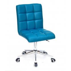 Кресло офисное Onder Mebli Augusto Modern Base ЭкоКожа Зеленый 1002