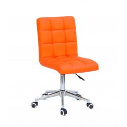 Кресло Onder Mebli Augusto Modern Base ЭкоКожа Оранжевые 1012