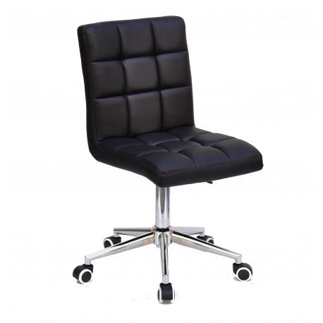 Кресло Onder Mebli Augusto Modern Base ЭкоКожа Черный