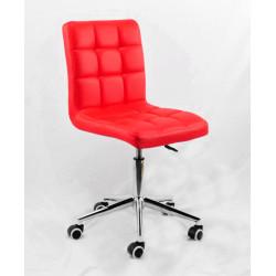 Кресло Onder Mebli Augusto Modern Base ЭкоКожа Красный 1007