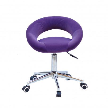 Кресло офисное Onder Mebli Holy Modern Office Бархат Пурпур В-1013
