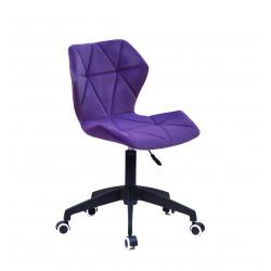 Кресло офисное Onder Mebli Torino BK - Modern Office Бархат Пурпур В-1013