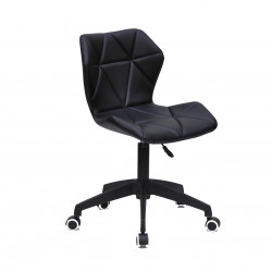 Кресло офисное Onder Mebli Torino BK - Modern Office ЭкоКожа Черный