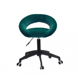 Кресло офисное Onder Mebli Holy BK-Modern Office Бархат Зеленый В-1003