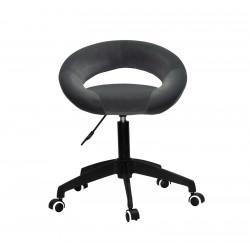 Кресло офисное Onder Mebli Holy BK-Modern Office Бархат Серый В-1004