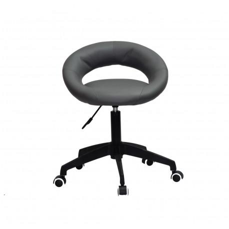 Кресло офисное Onder Mebli Holy BK-Modern Office ЭкоКожа Серый 1001