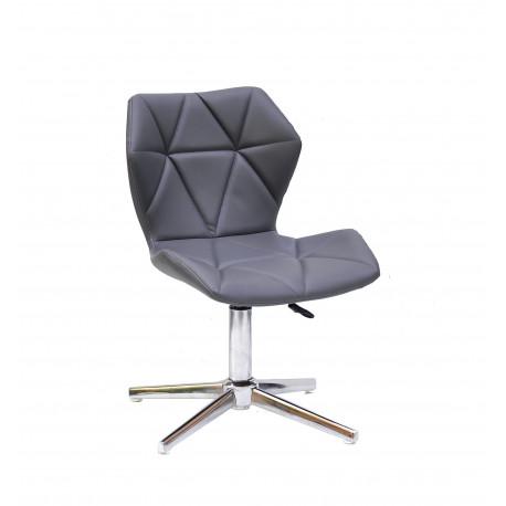 Кресло Onder Mebli Torino Modern Base ЭкоКожа Серый 1001