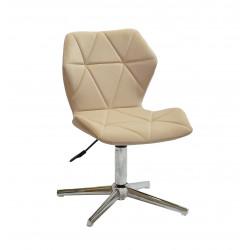 Кресло Onder Mebli Torino Modern Base Бархат Бежевый В-1005