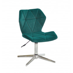 Кресло Onder Mebli Torino Modern Base Бархат Зеленый В-1003