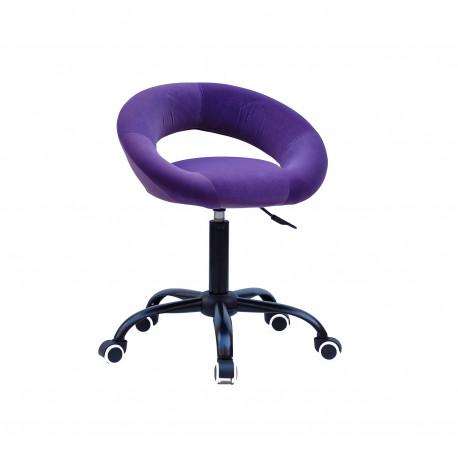 Кресло офисное Onder Mebli Holy BK-Office Бархат Пурпур В-1013