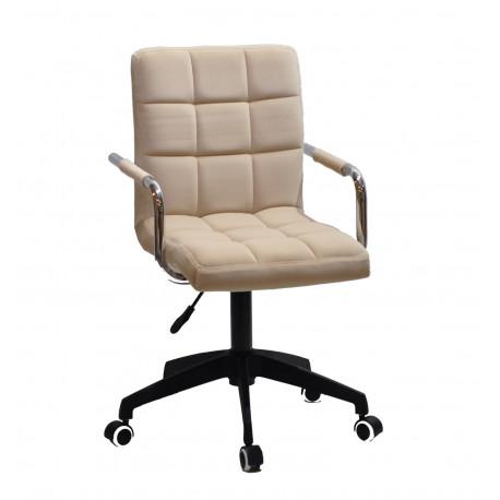 Кресло для персонала Onder Mebli Augusto Arm BK-Modern Office Бархат Беж В-1005