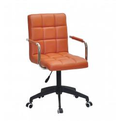 Кресло Onder Mebli Augusto Arm BK-Modern Office ЭкоКожа Коричневый 1014