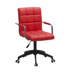 Кресло Onder Mebli Augusto Arm BK-Modern Office ЭкоКожа Красный 1007