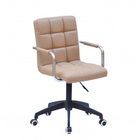 Кресло Onder Mebli Augusto Arm BK-Modern Office ЭкоКожа Бежевый 1009
