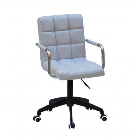 Кресло Onder Mebli Augusto Arm BK-Modern Office ЭкоКожа Серый 1008