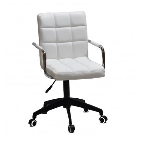 Кресло Onder Mebli Augusto Arm BK-Modern Office ЭкоКожа Белый