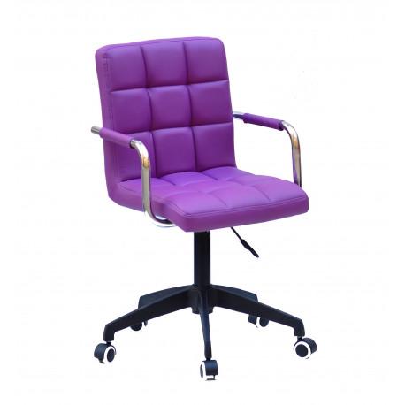 Кресло Onder Mebli Augusto Arm BK-Modern Office ЭкоКожа Пурпур 1010
