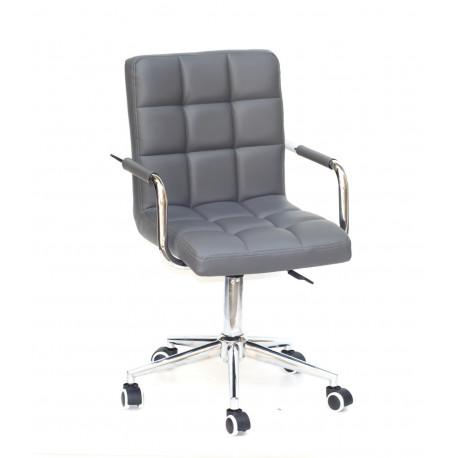 Кресло Onder Mebli Augusto Arm CH-Modern Office ЭкоКожа Серый 1001