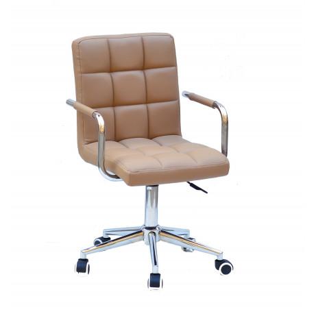 Кресло Onder Mebli Augusto Arm CH-Modern Office ЭкоКожа Беж 1009