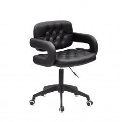 Кресло офисное Onder Mebli Gor BK - Modern Office ЭкоКожа Черный