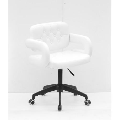 Кресло офисное Onder Mebli Gor BK - Modern Office ЭкоКожа Белый