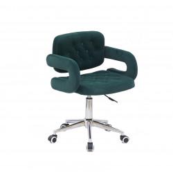 Кресло офисное Onder Mebli Gor Modern Office Бархат Зеленый В-1003